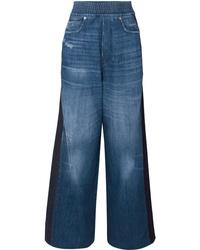 Pantaloni larghi di jeans blu di Golden Goose Deluxe Brand