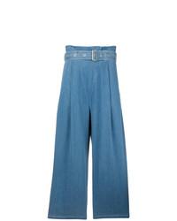 Pantaloni larghi di jeans blu di J Brand