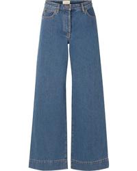 Pantaloni larghi di jeans blu di The Row