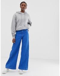Pantaloni larghi di jeans blu di Weekday