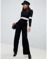 Pantaloni larghi neri di ASOS DESIGN