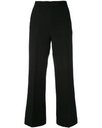 Pantaloni larghi neri di Fendi