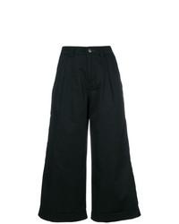 Pantaloni larghi neri di Societe Anonyme