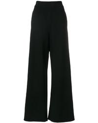 Pantaloni larghi neri di Stella McCartney