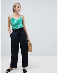 Pantaloni larghi neri di Vero Moda