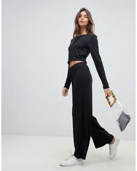 Pantaloni larghi neri di Vila