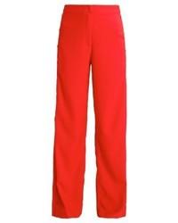 Pantaloni larghi rossi di LOST INK