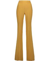 Pantaloni larghi senapi