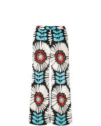Pantaloni larghi stampati multicolori di Aspesi