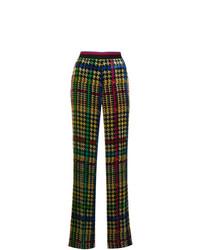 Pantaloni larghi stampati multicolori di Etro