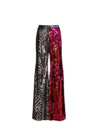 Pantaloni larghi stampati multicolori di Halpern