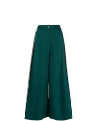 Pantaloni larghi verde scuro di Bodice Studio