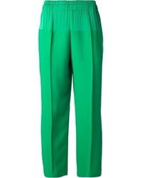 Pantaloni larghi verdi