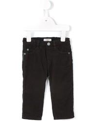 Pantaloni marrone scuro di Armani Junior