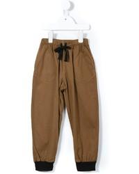 Pantaloni marroni di Caramel