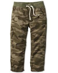 Pantaloni mimetici verde oliva