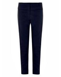 Pantaloni skinny blu scuro