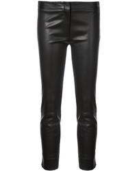 Pantaloni skinny in pelle neri di Derek Lam