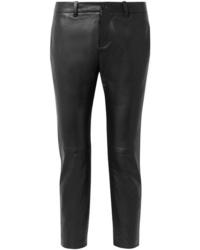Pantaloni skinny in pelle neri di Nili Lotan