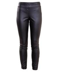 Pantaloni skinny in pelle neri di Rebecca Minkoff