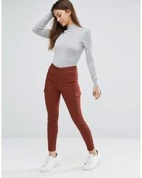 Pantaloni skinny marroni di Asos
