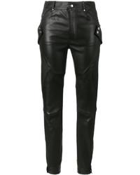 Pantaloni skinny neri di Alexander McQueen