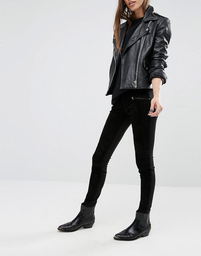 Pantaloni skinny neri di Blank NYC