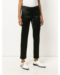 Pantaloni skinny neri di Giorgio Armani Vintage