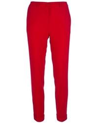 Pantaloni skinny rossi