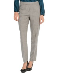 Pantaloni skinny scozzesi grigi