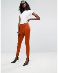 Pantaloni skinny terracotta di ASOS DESIGN