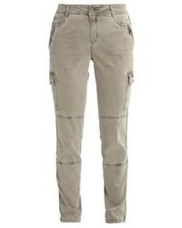 Pantaloni skinny verde oliva di Expresso