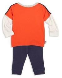 Pantaloni sportivi arancioni