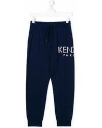 Pantaloni sportivi blu scuro di Kenzo