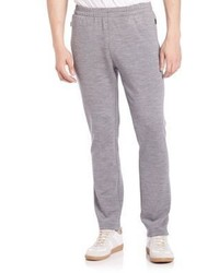 Pantaloni sportivi di lana grigi