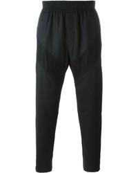 Pantaloni sportivi di lana neri di Givenchy