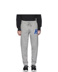 Pantaloni sportivi grigi di Helmut Lang