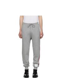 Pantaloni sportivi grigi di Thom Browne
