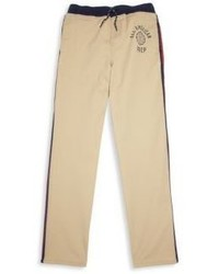 Pantaloni sportivi marrone chiaro