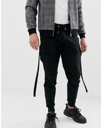 Pantaloni sportivi neri di ASOS DESIGN