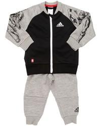 Pantaloni sportivi stampati grigi