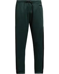Pantaloni sportivi verde scuro