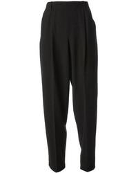 Pantaloni stile pigiama neri