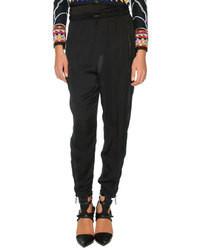 Pantaloni stile pigiama