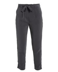 Pantaloni stretti in fondo grigio scuro di Even&Odd
