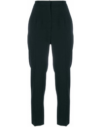 Pantaloni stretti in fondo neri di Alexander McQueen