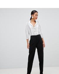 Pantaloni stretti in fondo neri di Asos Tall