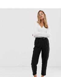 Pantaloni stretti in fondo neri di Vero Moda Petite