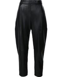 Pantaloni stretti in fondo neri di Vince