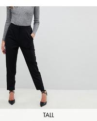 Pantaloni stretti in fondo neri di Y.A.S Tall